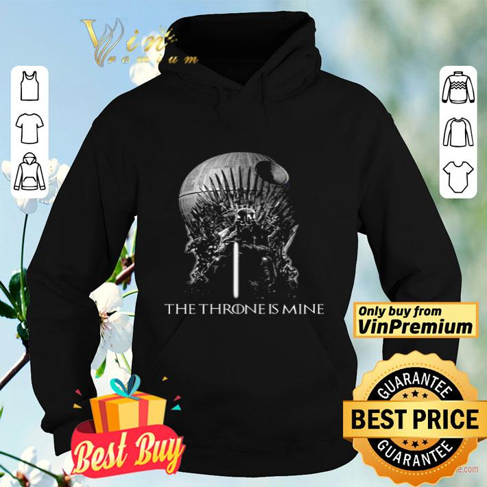 Darth Vader Game Of Thrones The Throne Is Mine shirt