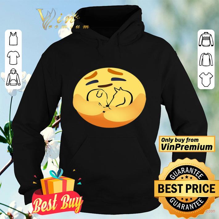 Facebook Care Emoji Hug Heart Dog And Horse shirt 4 - Facebook Care Emoji Hug Heart Dog And Horse shirt