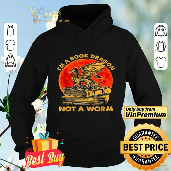 I m A Book Dragon Not A Worm Sunset shirt 4 - I'm A Book Dragon Not A Worm Sunset shirt