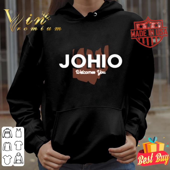 Joe Burrow JOHIO Wellcomes You shirt