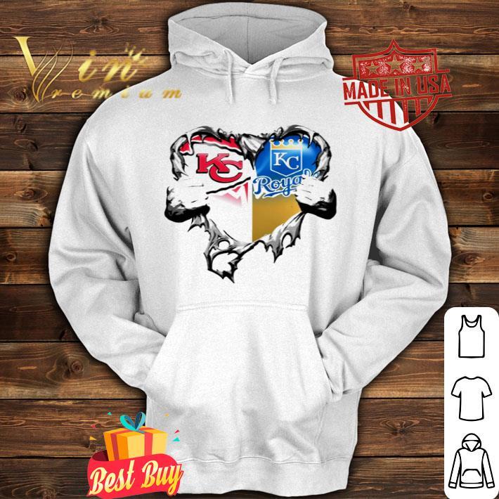Kansas City Chiefs vs Kansas City Royal inside me shirt