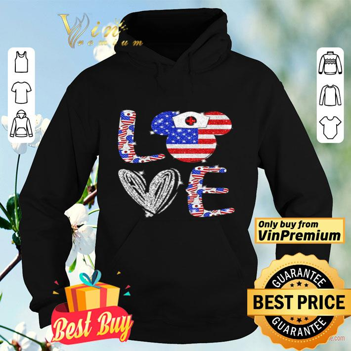 Love independence day Mickey Mouse shirt 4 - Love independence day Mickey Mouse shirt