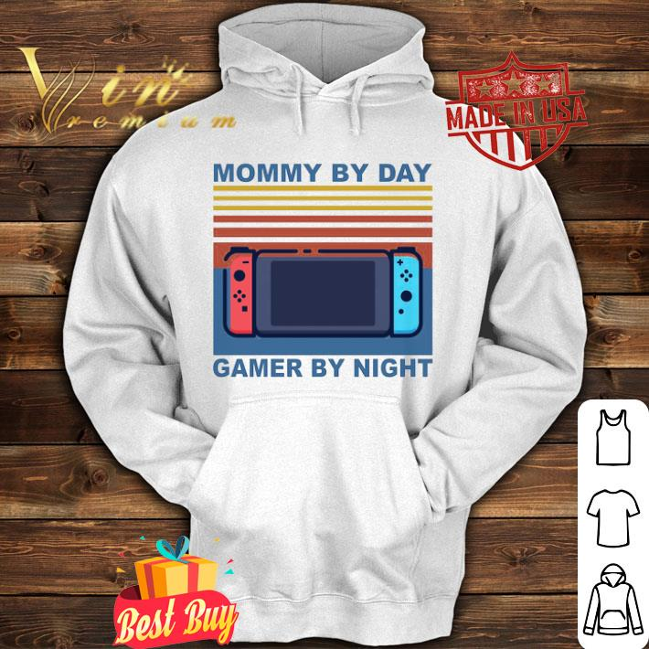 Mommy by day gamer by night vintage mother day shirt 4 - Mommy by day gamer by night vintage mother day shirt