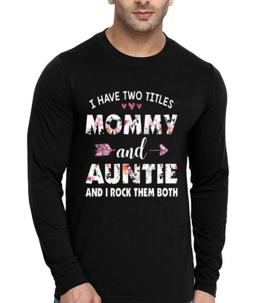 Mother's Day Tee For Aunt Shirt