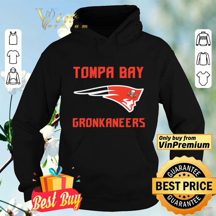 Patriots and Buccaneers Tompa Bay Gronkaneers shirt 4 - Patriots and Buccaneers Tompa Bay Gronkaneers shirt