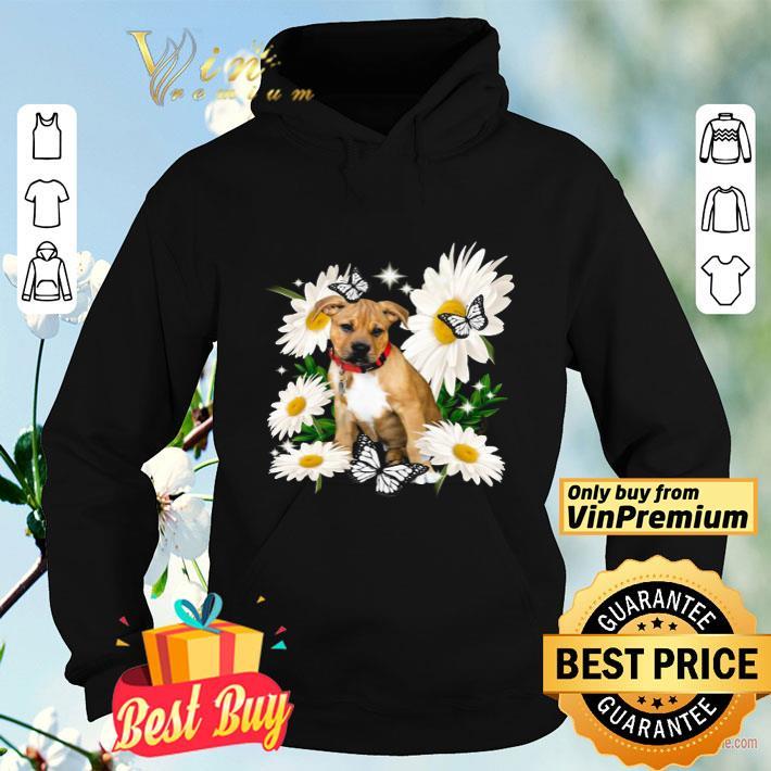 Pitbull Boxer Mix Daisy flower Classic shirt 4 - Pitbull Boxer Mix Daisy flower Classic shirt