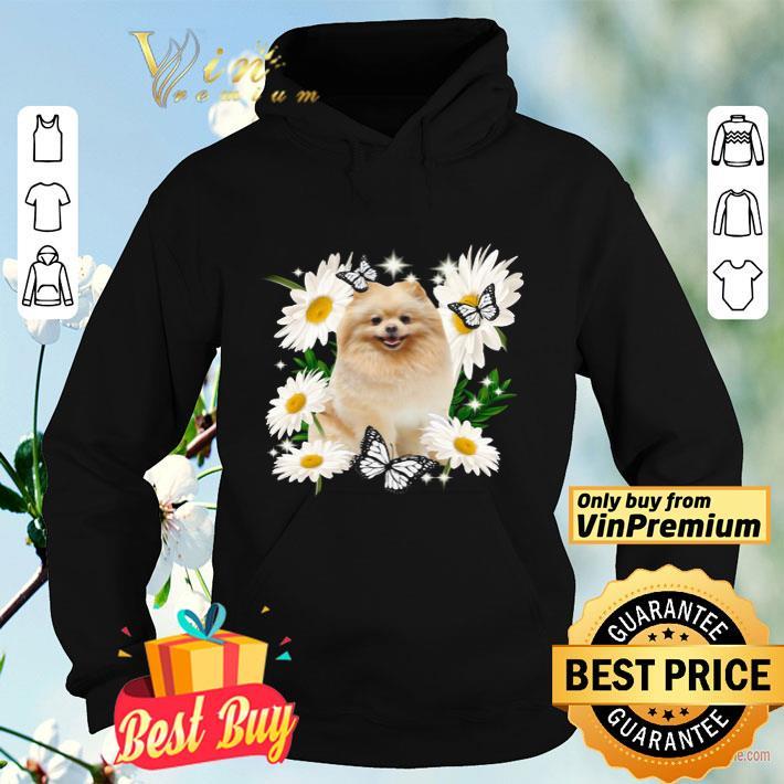 Pomeranian Daisy flower Classic shirt 4 1 - Pomeranian Daisy flower Classic shirt