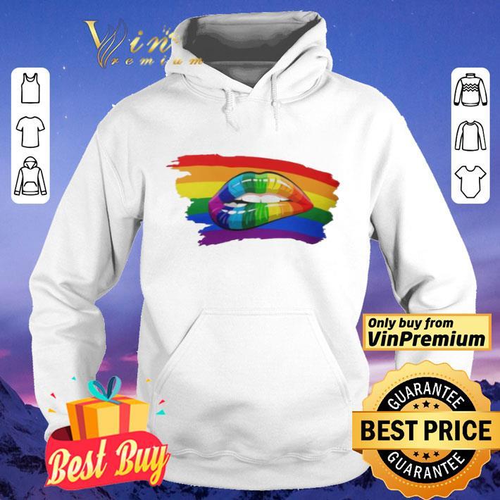 RAINBOW LIPS SHIRT shirt 4 - RAINBOW LIPS SHIRT shirt