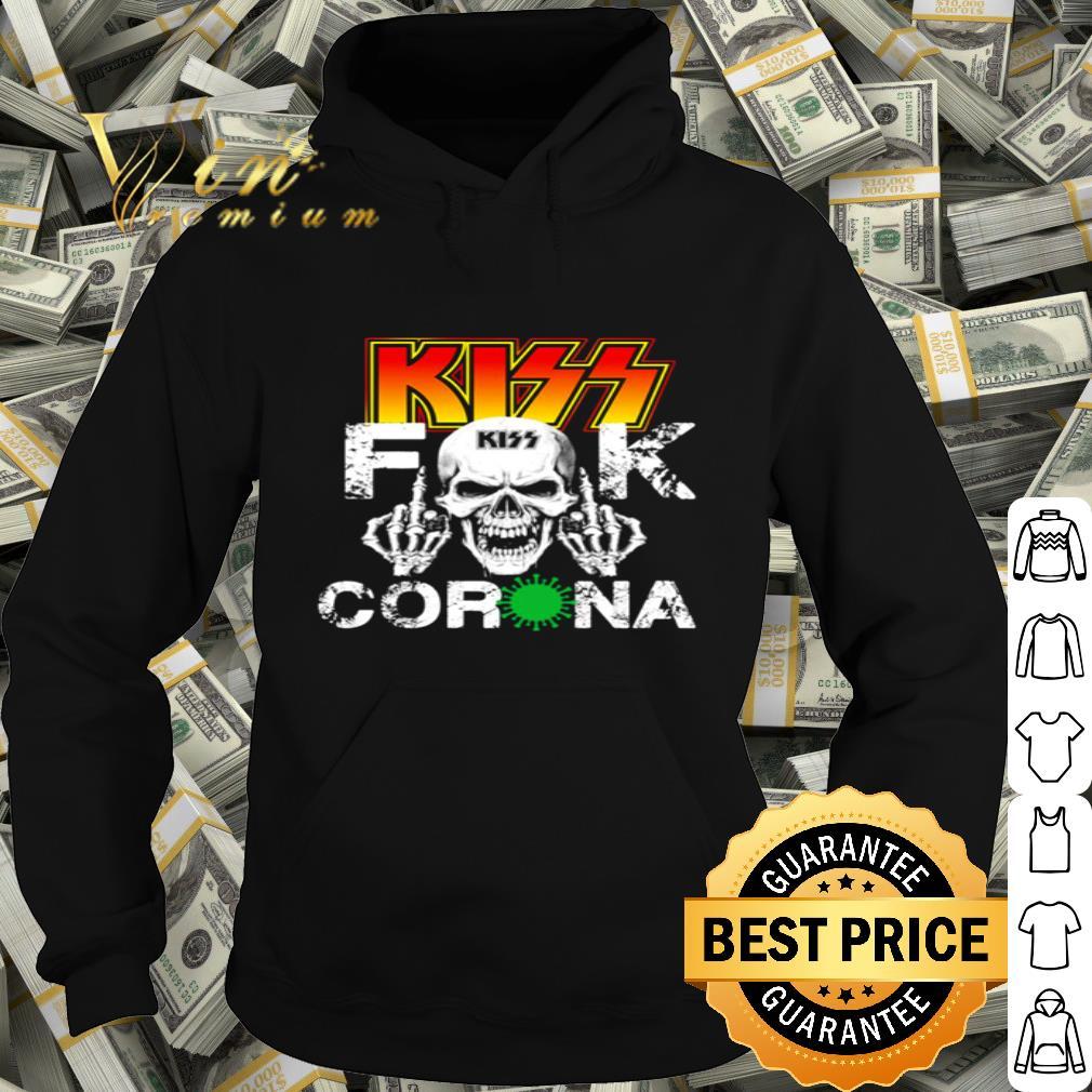 Skull Kiss Fuck Coronavirus Covid-19 shirt