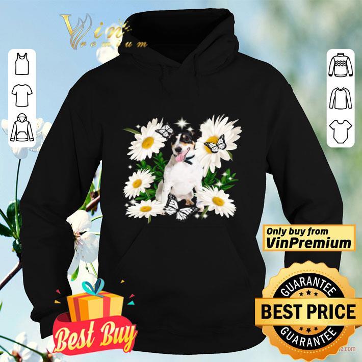 Smooth Fox Terrier Daisy flower Classic shirt 4 - Smooth Fox Terrier Daisy flower Classic shirt