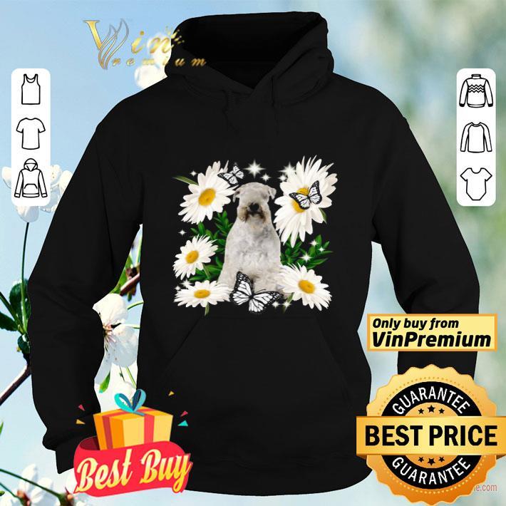 Soft Coated Wheaten Terrier Daisy flower Classic shirt 4 - Soft Coated Wheaten Terrier Daisy flower Classic shirt