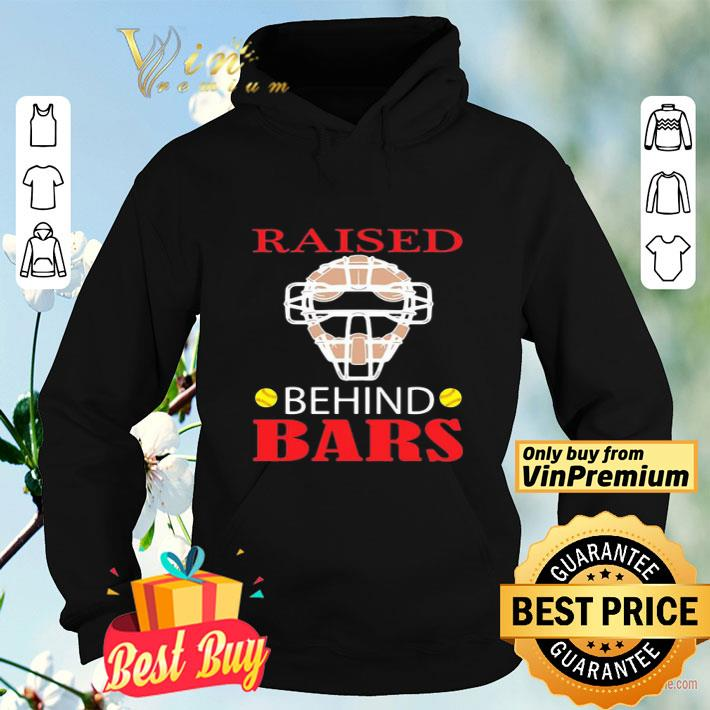 Softball raised behind bars shirt 4 - Softball raised behind bars shirt