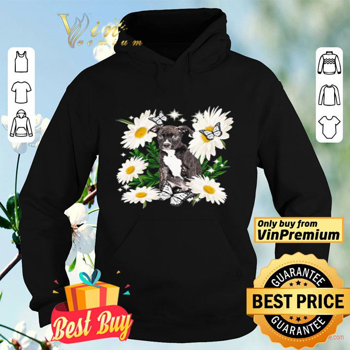 Staffordshire Bull Terrier Dog Daisy flower Classic shirt 4 - Staffordshire Bull Terrier Dog Daisy flower Classic shirt