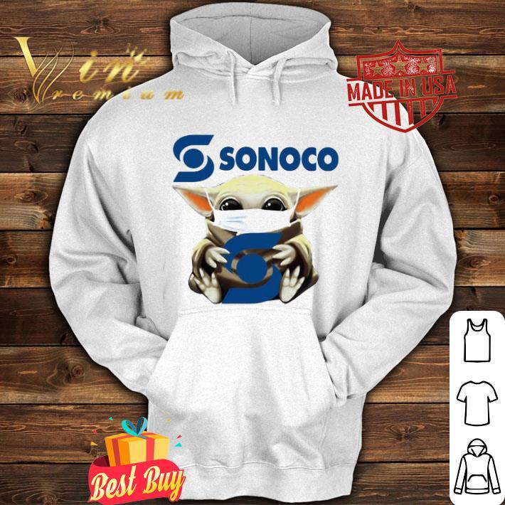 Star Wars Baby Yoda mask Sonoco Coronavirus shirt