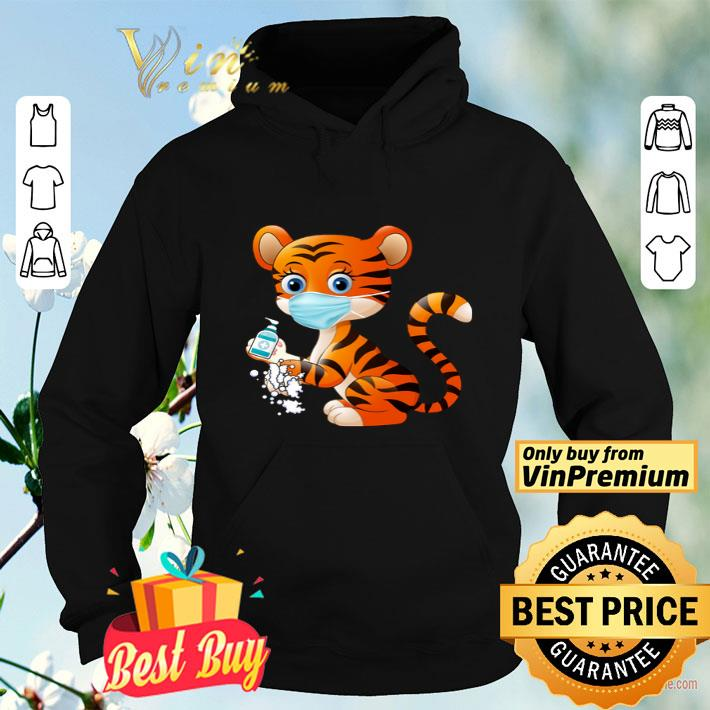 Tiger Mask And Wash Hand Coronavirus shirt 4 - Tiger Mask And Wash Hand Coronavirus shirt