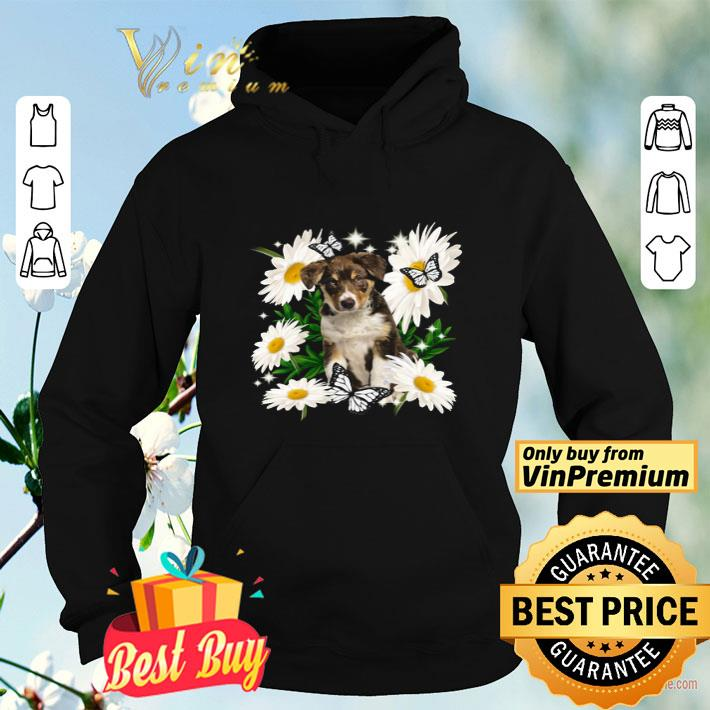 Tricolour Border Collie Daisy flower Classic shirt 4 - Tricolour Border Collie Daisy flower Classic shirt