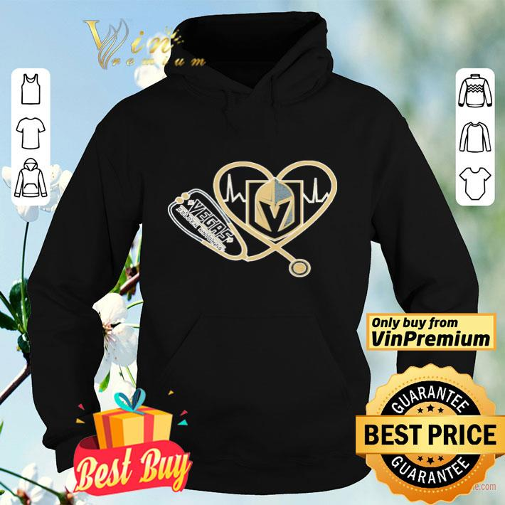 Vegas Golden Knights nurse stethoscope love heartbeat shirt 4 - Vegas Golden Knights nurse stethoscope love heartbeat shirt