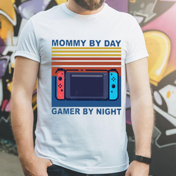 Vintage Mommy By Day Gamer By Night shirt 4 - Vintage Mommy By Day Gamer By Night shirt