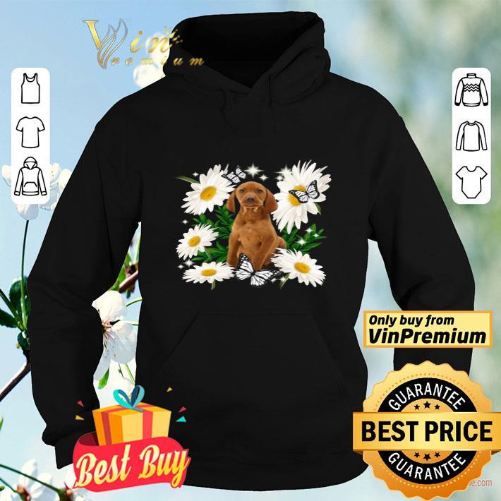 Vizsla Daisy flower Classic shirt 4 1 - Vizsla Daisy flower Classic shirt