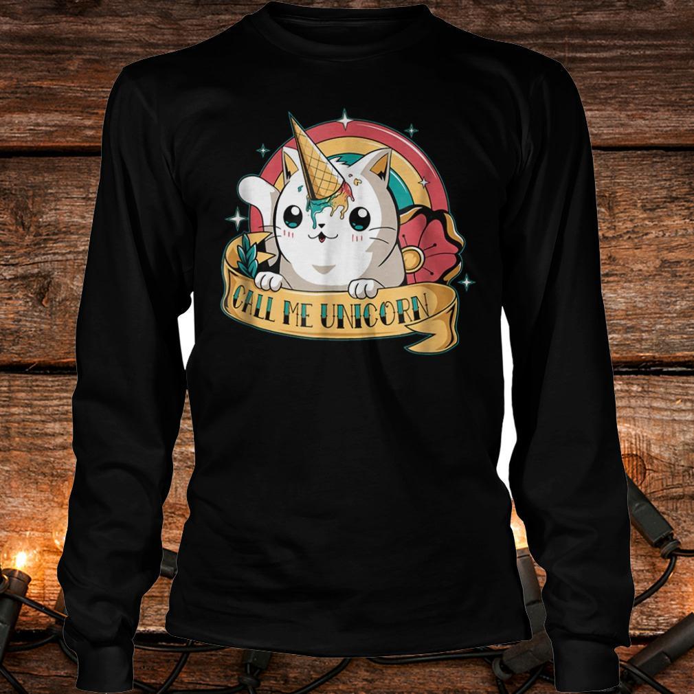 Cat unicorn cute Kawaii cats i'm a unicorn shirt Longsleeve Tee Unisex