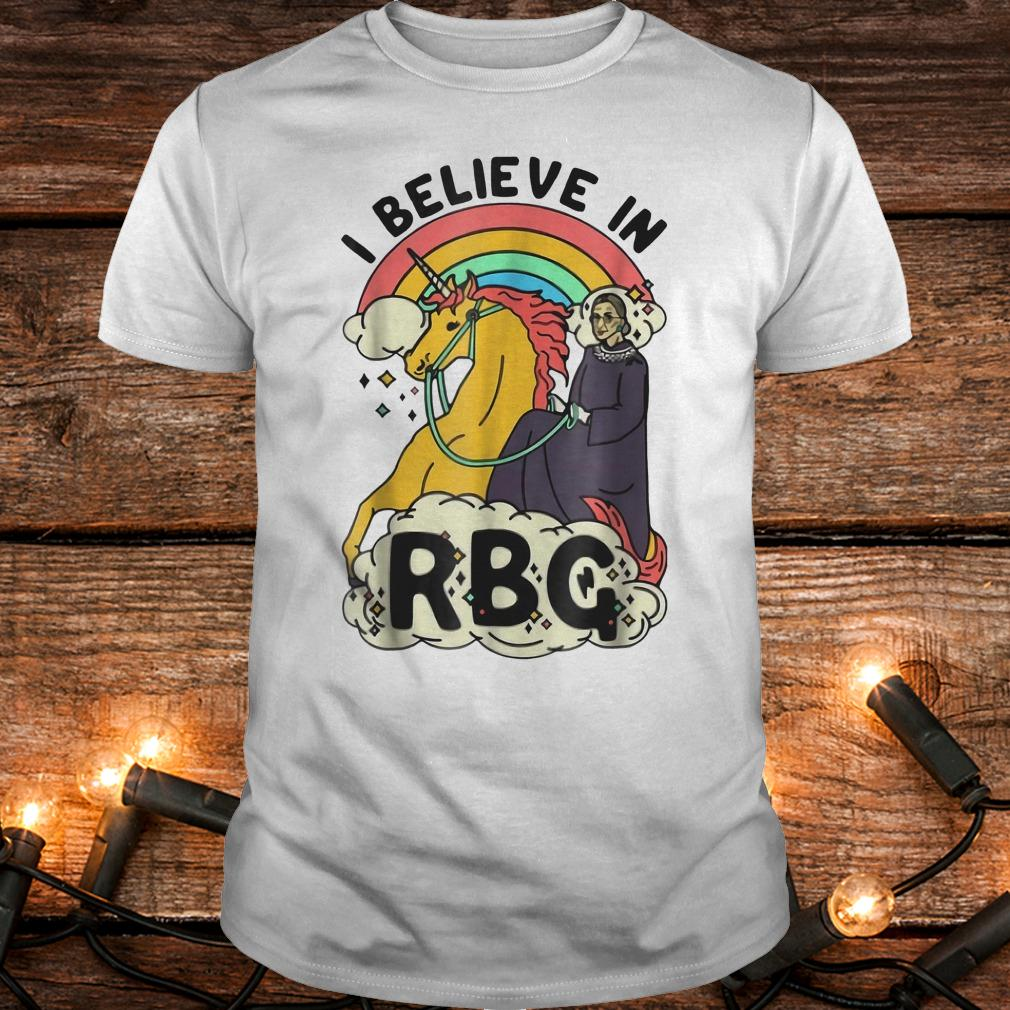 Ruth Bader Ginsburg riding unicorn RBG unicorn shirt Classic Guys / Unisex Tee