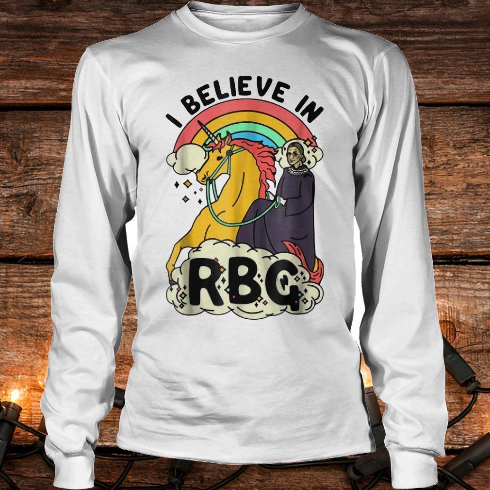 Ruth Bader Ginsburg riding unicorn RBG unicorn shirt Longsleeve Tee Unisex