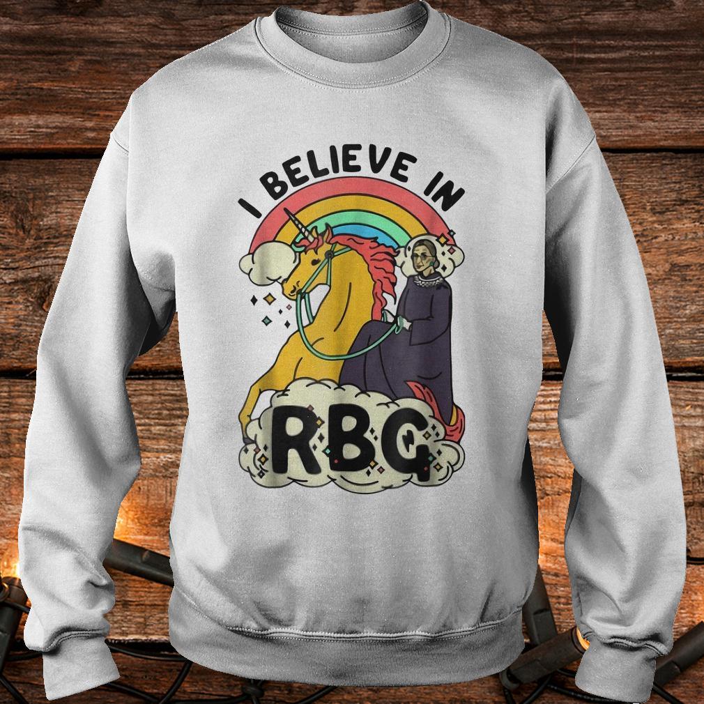 Ruth Bader Ginsburg riding unicorn RBG unicorn shirt