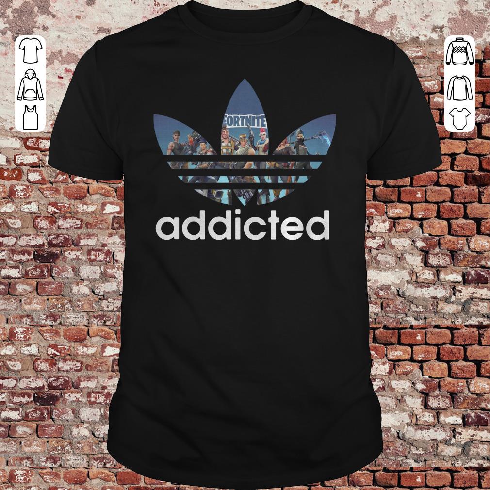 Adidas Fortnite Game addicted shirt