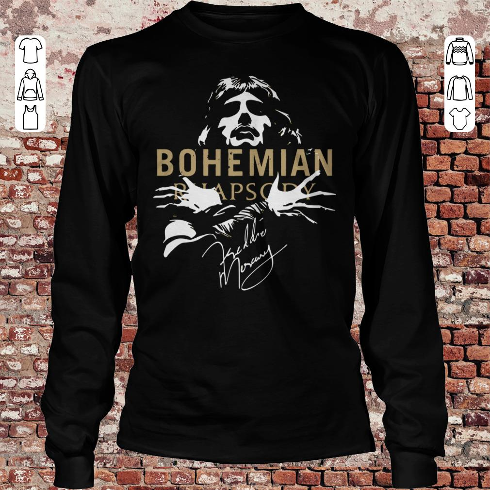 Bohemian Rhapsody Signature shirt Longsleeve Tee Unisex