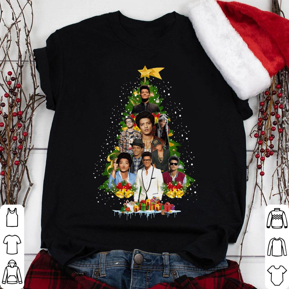 Bruno Mars Christmas tree shirt