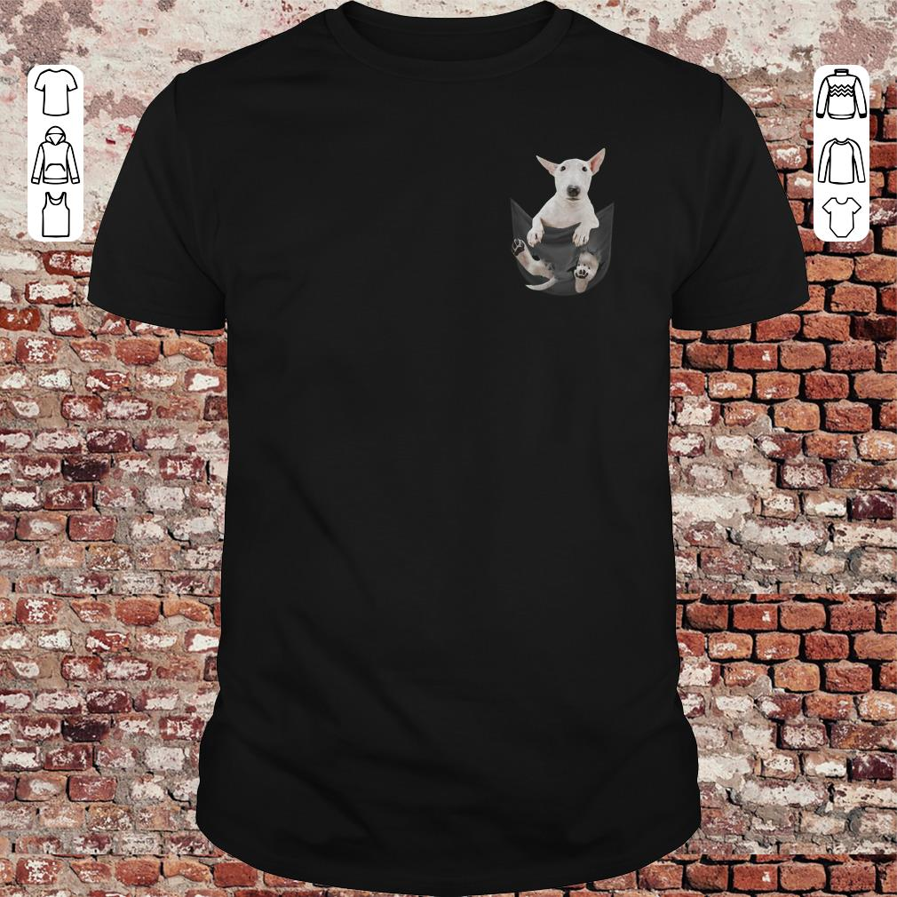 Bull Terrier Pocket shirt