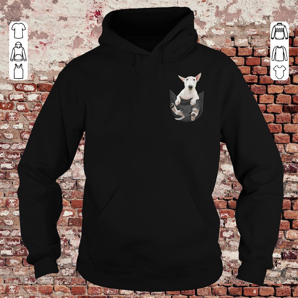 Bull Terrier Pocket shirt Hoodie