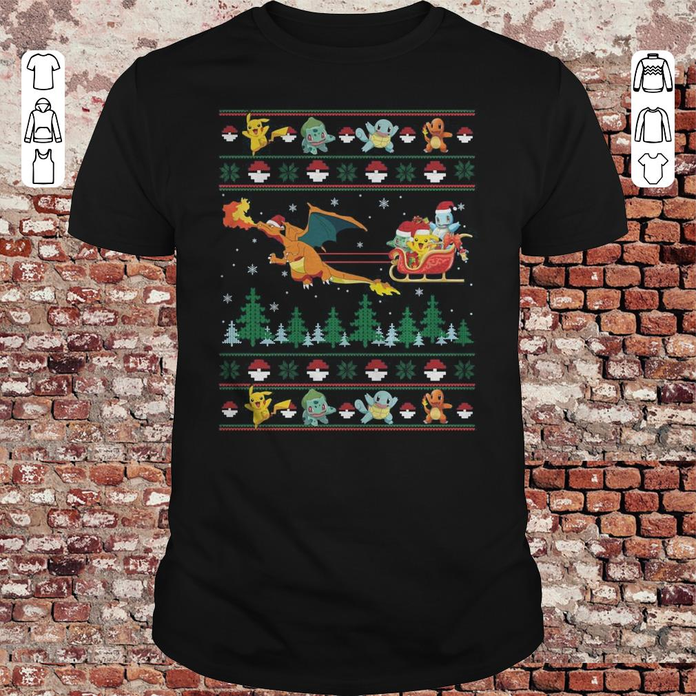Christmas Pokemon Sweater shirt