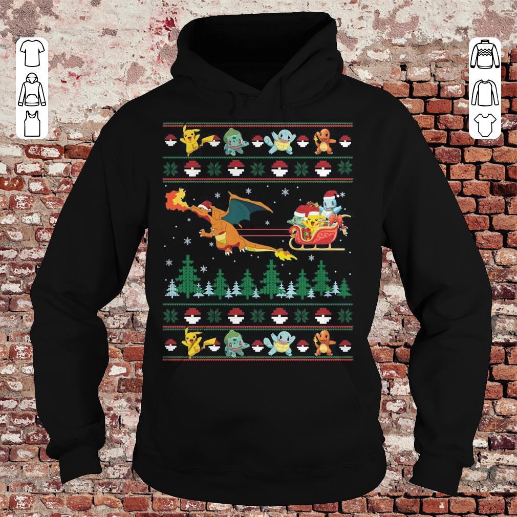 Christmas Pokemon Sweater shirt Hoodie