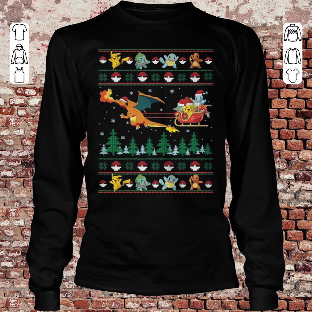 Pokemon Christmas Sweater.Christmas Pokemon Sweater Shirt