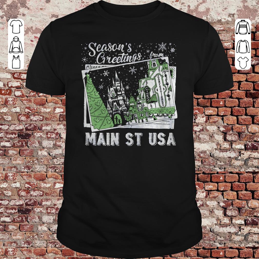 Christmas Season's Greetings from Main St USA shirt