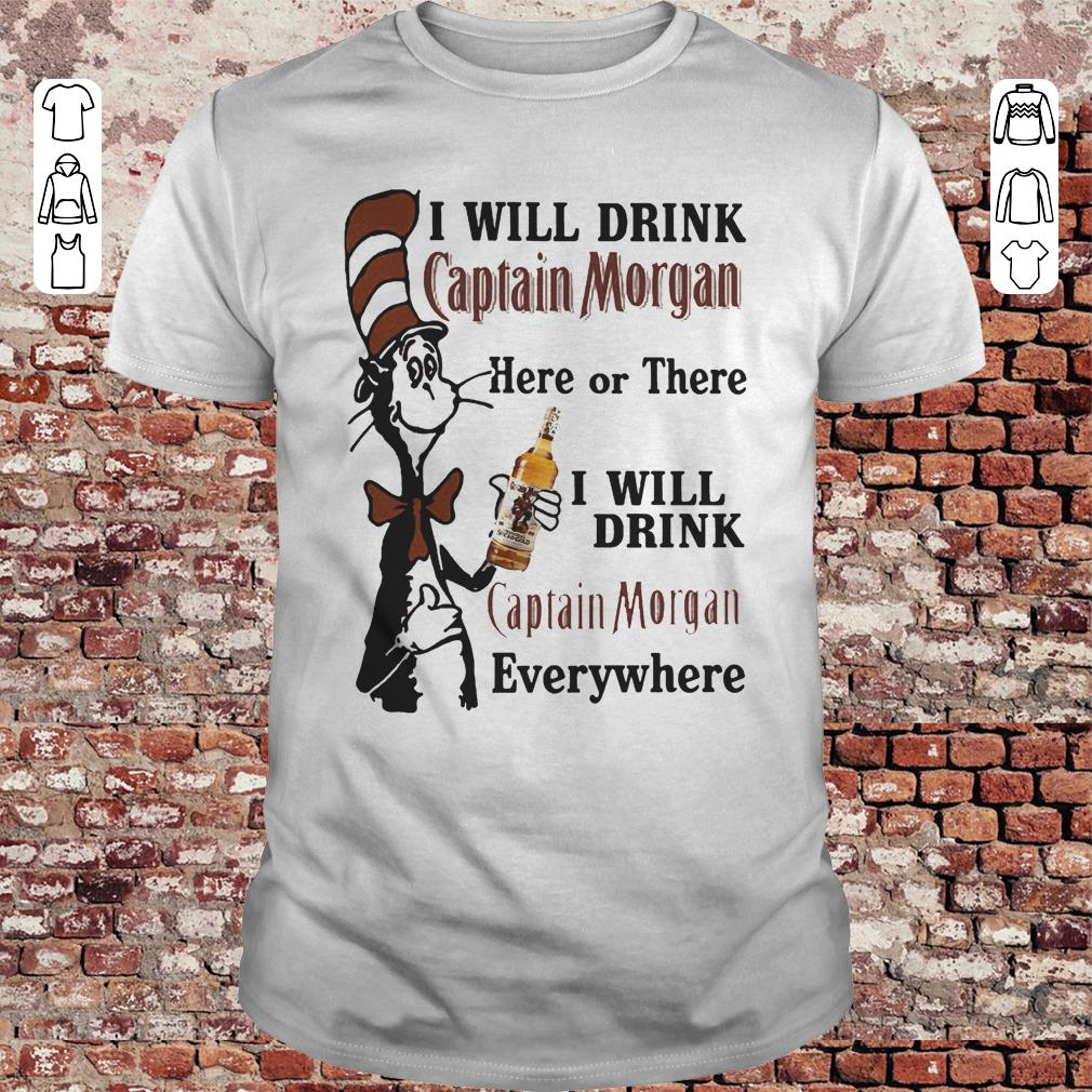 Dr Seuss I will drink Dr Pepper here or there I will drink Dr Pepper every where Shirt