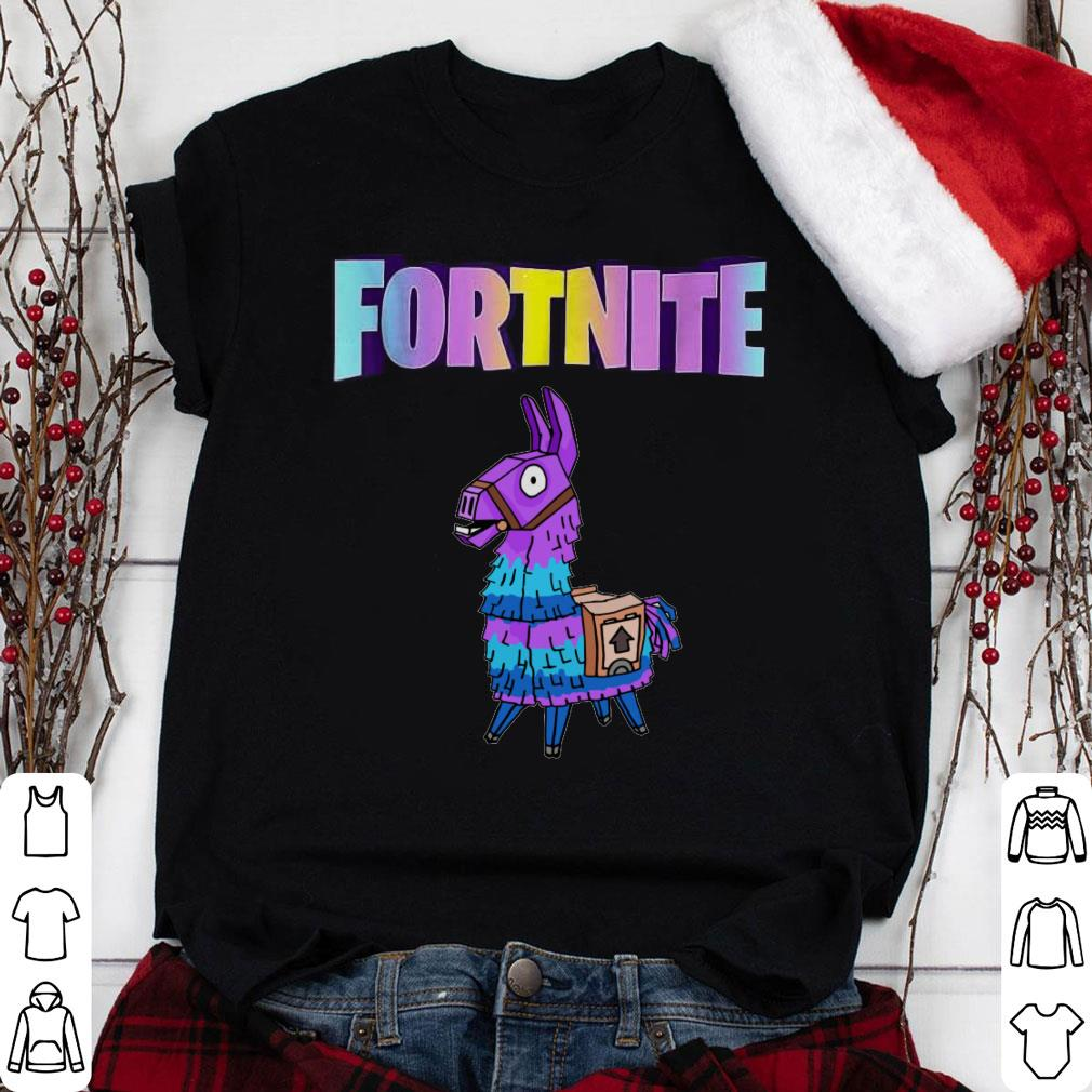 Fortnite Unicorn Llama shirt