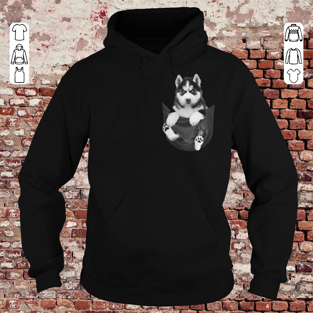 Husky Tiny Pocket shirt Hoodie