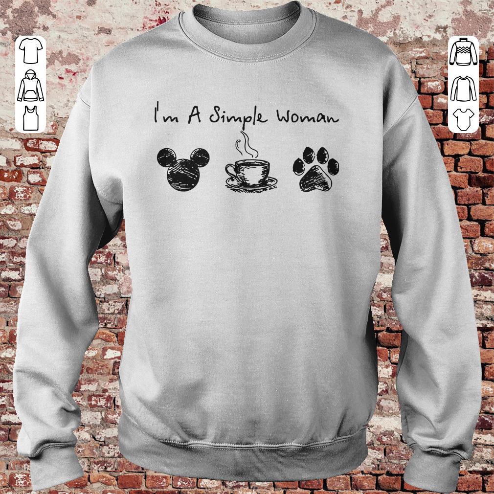 f3fcd5e62d4f https://unicornshirts.net/images/2018/11/I-m-a- Guys Tee. I'm a simple  woman I like Mickey Minnie Mouse Coffee and Dog shirt Hoodie