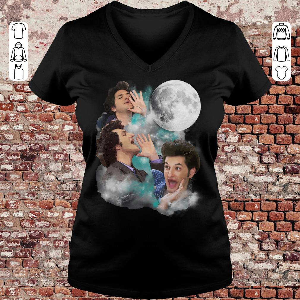 Jean-Ralphio Saperstein three Moon The wooorst shirt Ladies V-Neck