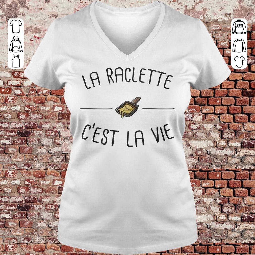 La raclette C'est la vie shirt Ladies V-Neck