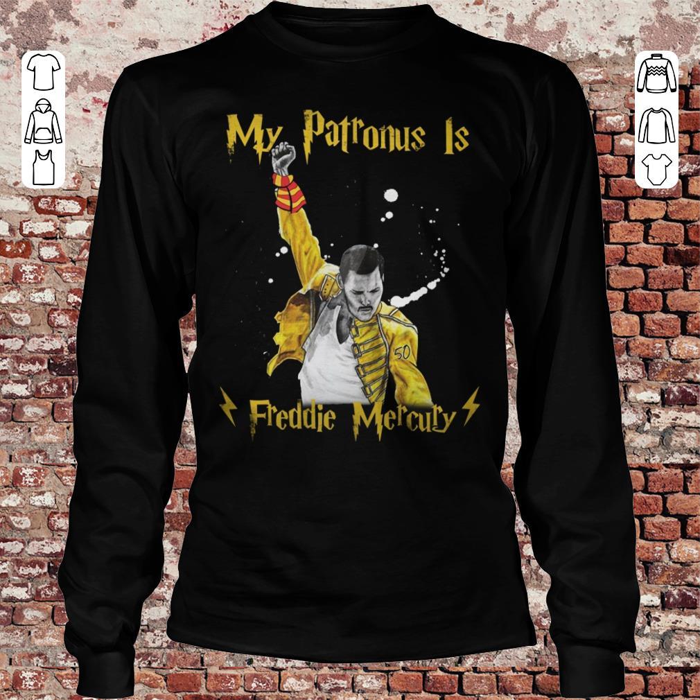 My patronus is Freddie Mercury shirt Longsleeve Tee Unisex
