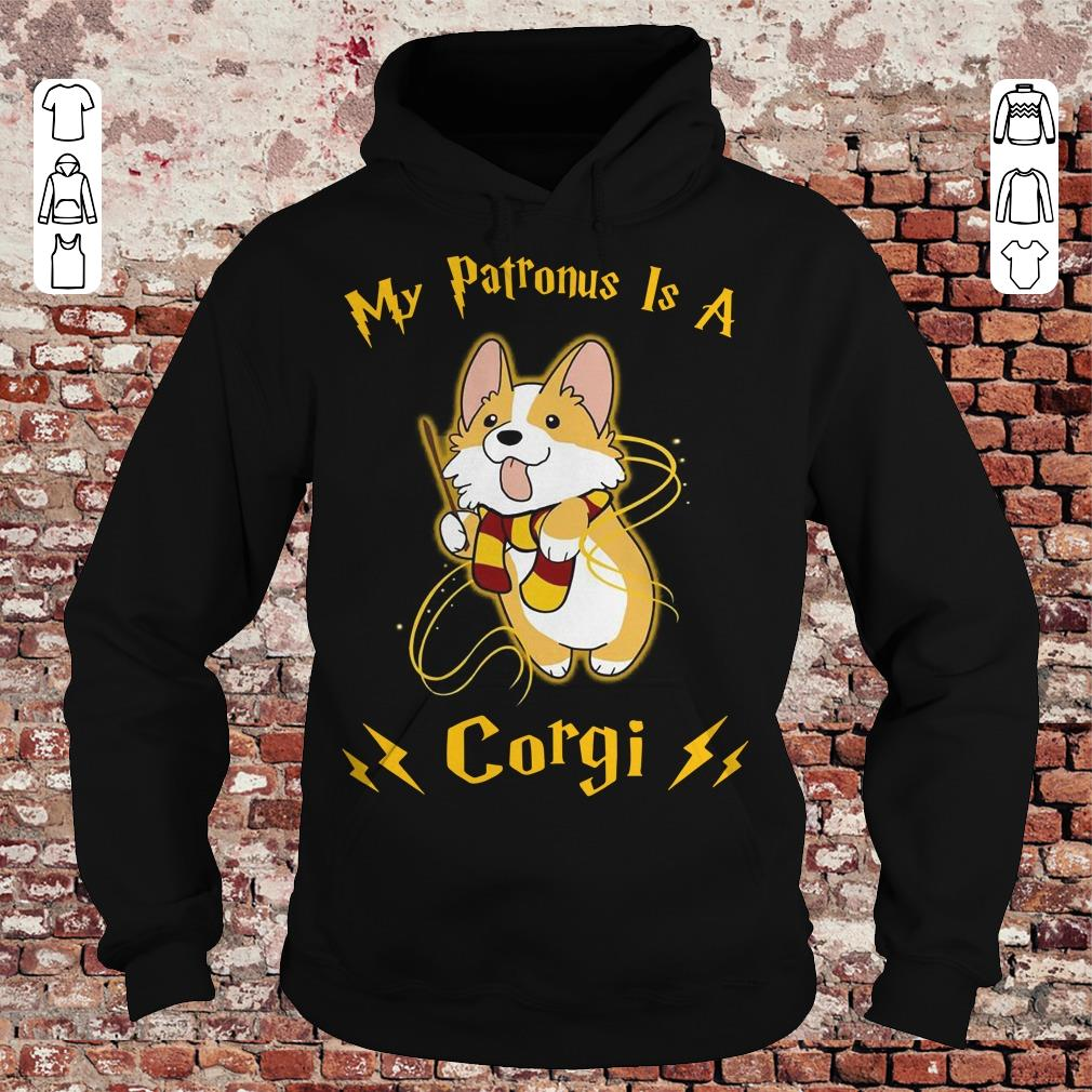 My patronus is a corgi shirt Hoodie