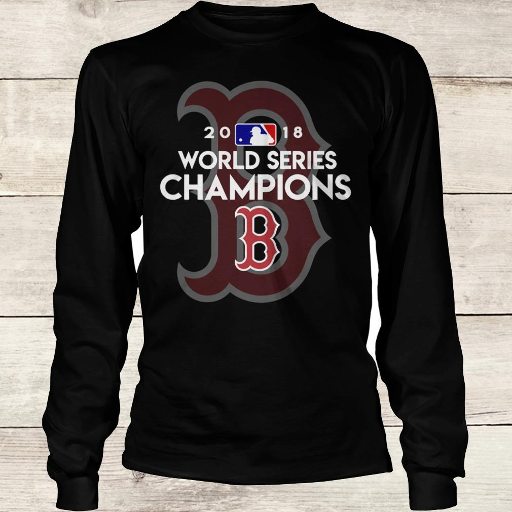 Official Boston Red Sox world series champions shirt Longsleeve Tee Unisex