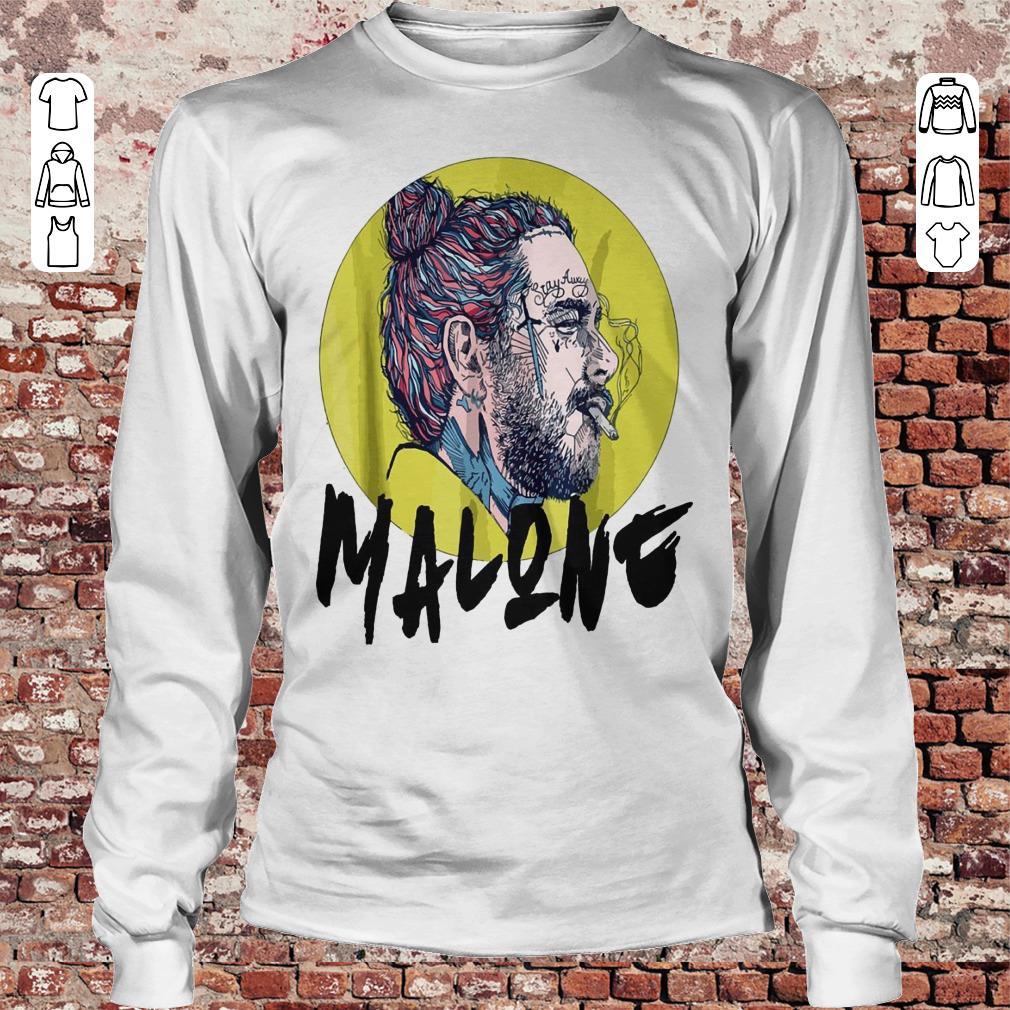Post malone stay away shirt Longsleeve Tee Unisex