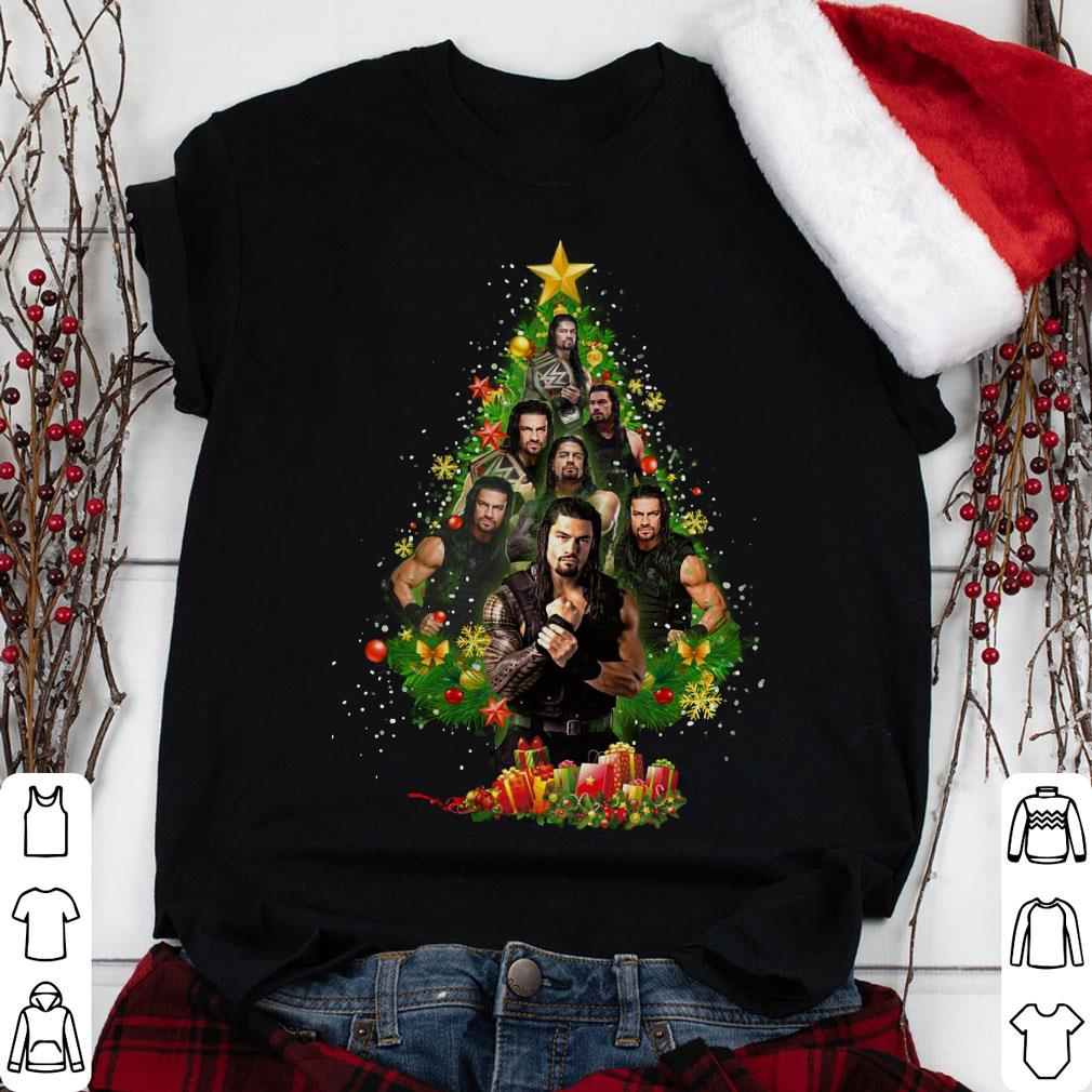 Roman Reigns Christmas Tree shirt