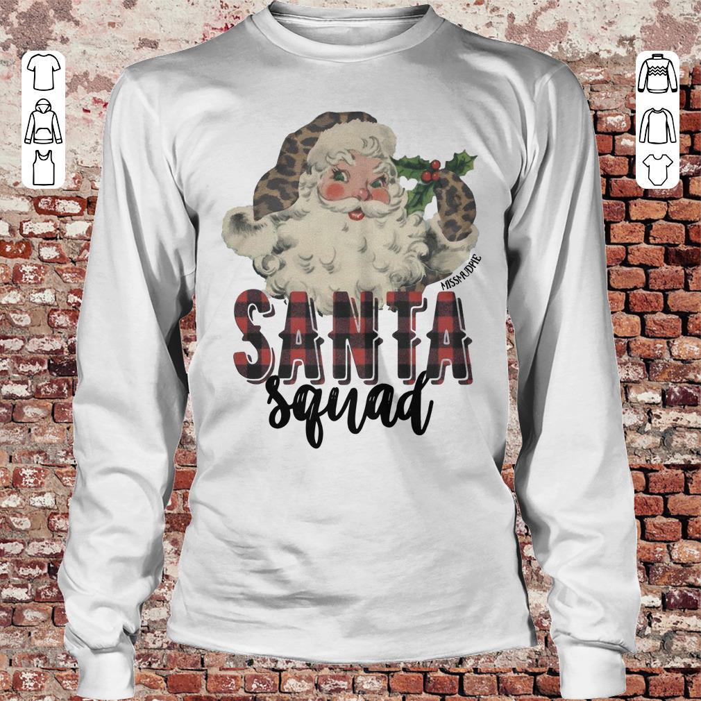 Santa Squad shirt Longsleeve Tee Unisex