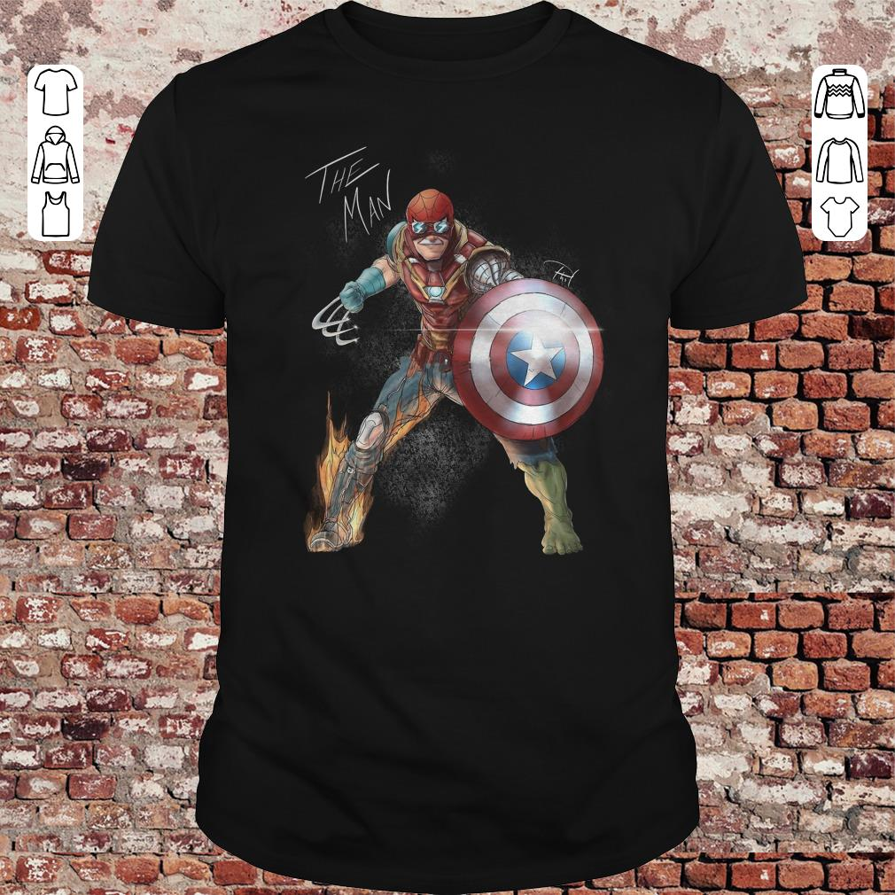 Stan Lee One with his universe shirt 1