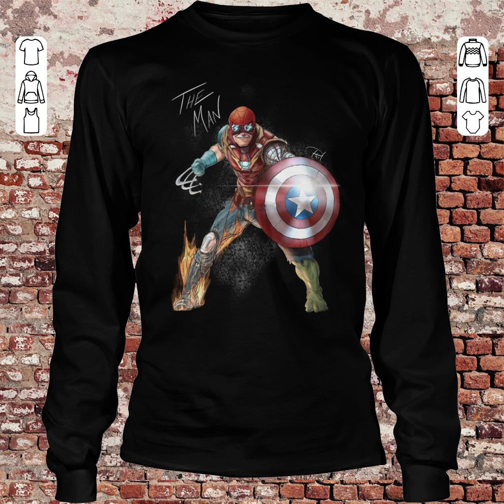 Stan Lee One with his universe shirt Longsleeve Tee Unisex